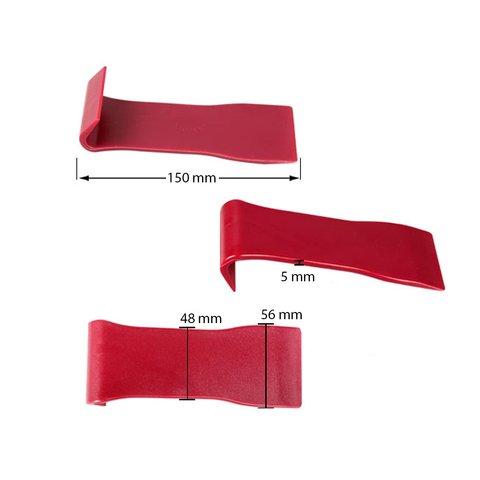 Инструмент для снятия обшивки с широкой лопаткой (полиуретан, 150×56 мм) Превью 1