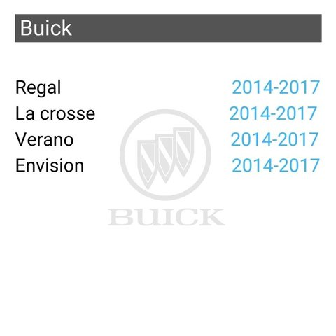 Wireless CarPlay and Android Auto Adapter for GM Buick Regal/La crosse/Verano/Envision 2014-2017 Preview 1