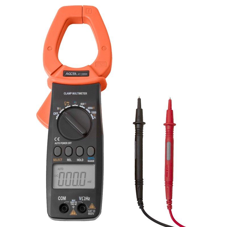Струмовимірювальні кліщі Accta AT-1000A Зображення 2