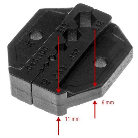 Матрица для кримпера Pro'sKit CP-336DG