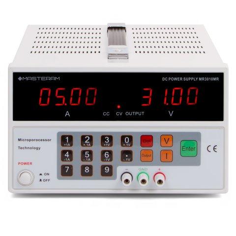 Лабораторний блок живлення Masteram MR3010MR Прев'ю 1