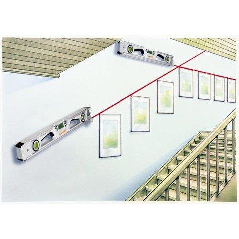 Електронний рівень з лазерним променем Laserliner DigiLevel Pro 30 Прев'ю 4