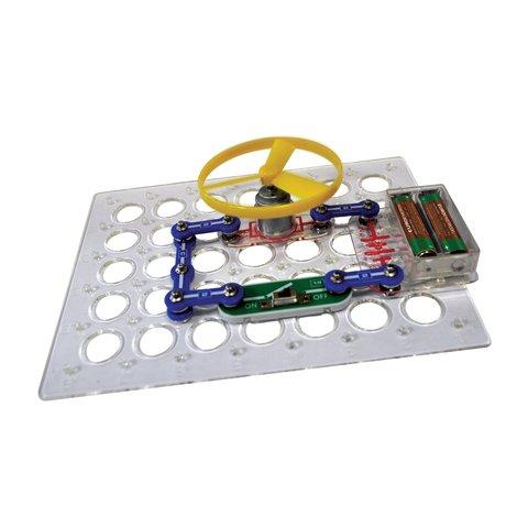 Электронный конструктор ЗНАТОК Первые шаги в электронике. Набор А, 15 схем Превью 1