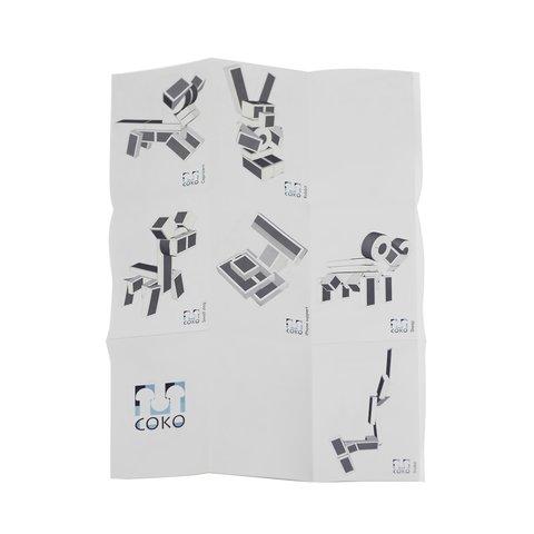 Конструктор COKO Строительные кубики 22 Превью 7