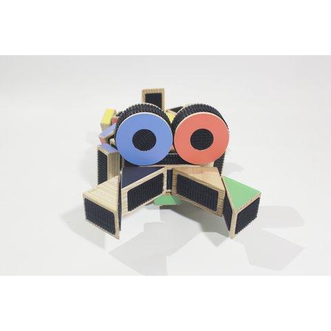 Конструктор COKO Будівельні кубики 36