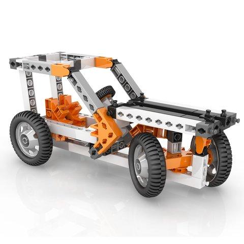 Конструктор Engino STEM Механіка: колеса, осі та похилі площини