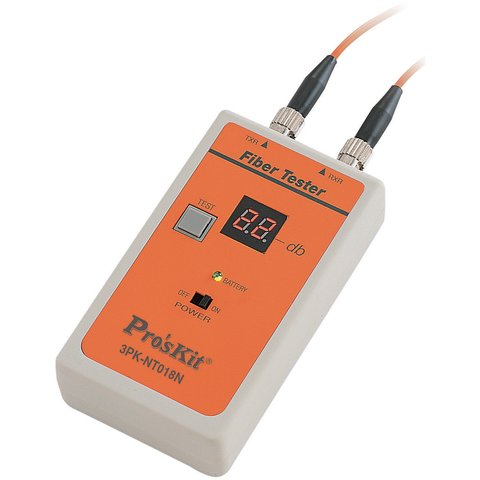 Fiber Optic Cable Tester ST Type Pro'sKit 3PK-NT018N-ST Preview 1