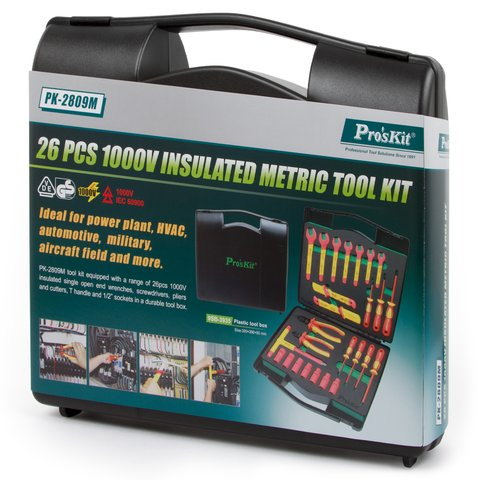 Insulated Tool Kit Pro'sKit PK-2809M Preview 2